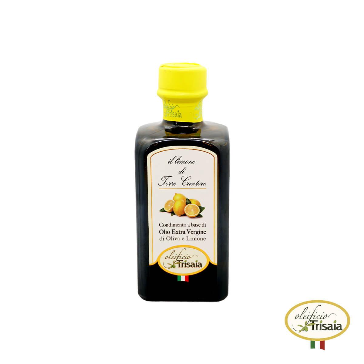 Olio EVO Extravergine di Oliva aromatizzato al limone