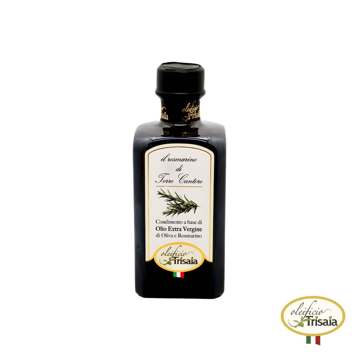 Olio EVO Extravergine di Oliva aromatizzato al rosmarino